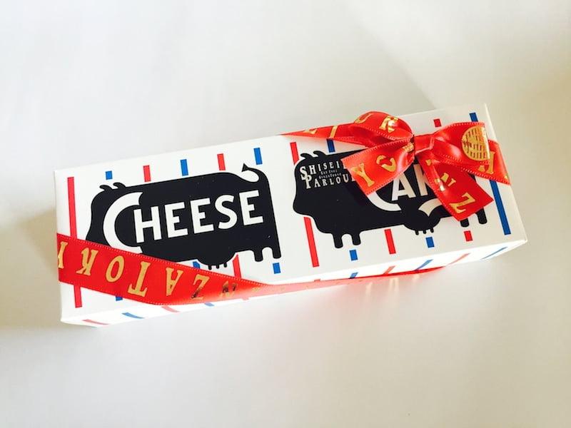 資生堂パーラー チーズケーキ 外装