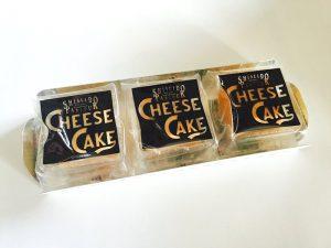 資生堂パーラー チーズケーキ 開封した写真