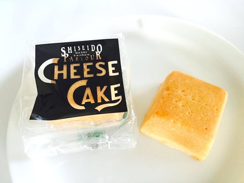 資生堂パーラー チーズケーキ 中身の写真