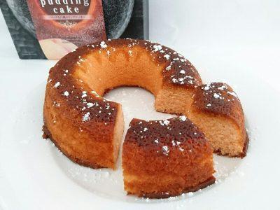 白桃リッチスイーツプリンケーキ
