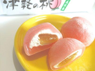 津軽の桃大福