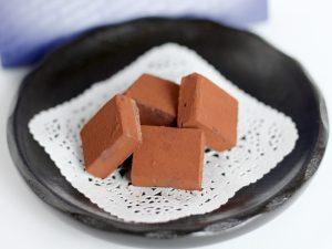 ロイズ生チョコレートオーレ 開封した写真