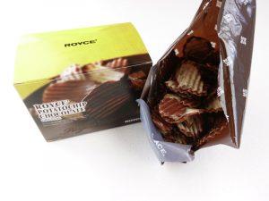 ロイズ ポテトチップ チョコレート 開封写真