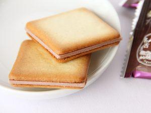 小倉トーストラングドシャ 中身の写真