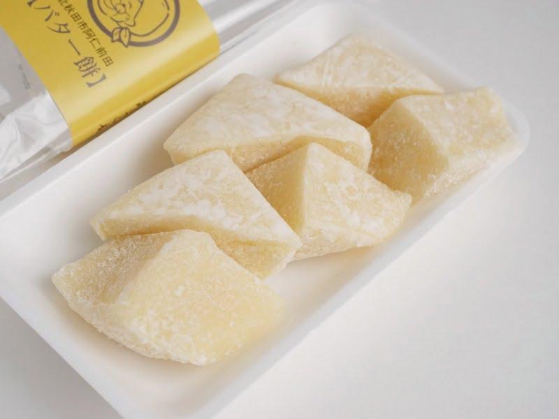 みうら庵 もちもち三角バター餅開封後