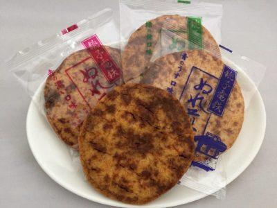 銚子電鉄ぬれ煎餅