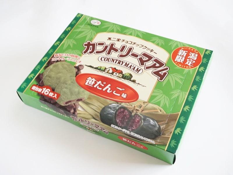 カントリーマアム 新潟限定 笹だんご味外装