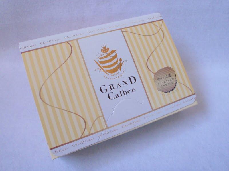 グランカルビー チーズ塩味外装