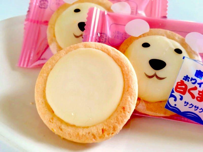 鹿児島ホワイトクッキー白くま親子中身