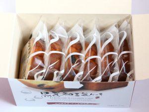 黒豆和三盆ケーキ開封した写真
