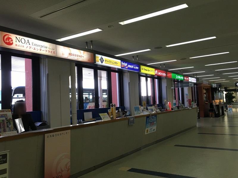 長崎空港内レンタカー
