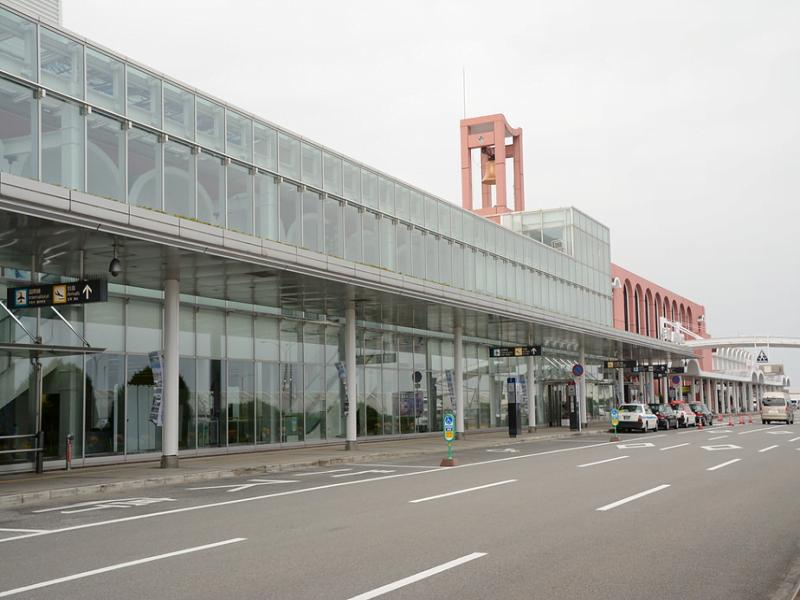 長崎空港入り口