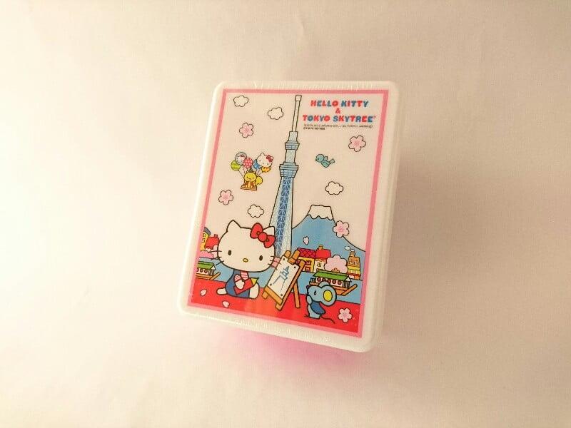 東京スカイツリー&ハローキティランチボックスバタークッキー外装