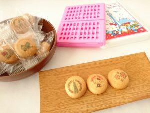 東京スカイツリー&ハローキティランチボックスバタークッキー アップ