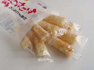 お菓子になったきりたんぽ(きりたんぽスープ味)開封後