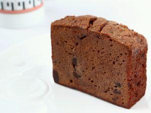 チョコレートケーキ中身の写真