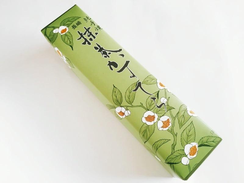 白雲堂 長崎抹茶カステラ外装