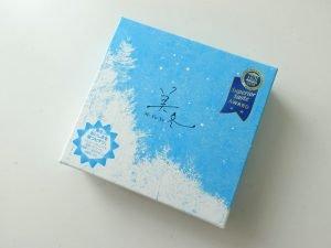 石屋製菓の美冬の外装パッケージ