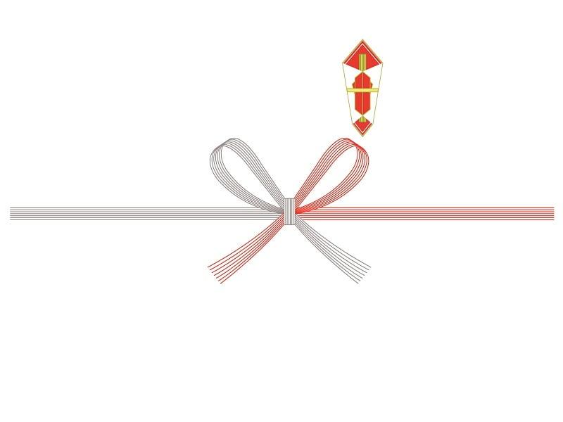 のし紙 紅白花結び