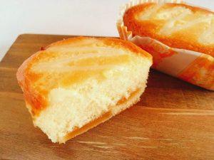 あおもり紅玉果実のチーズケーキ中身