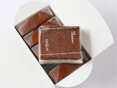 文明堂総本店 カステラ カット包装タイプ チョコレート
