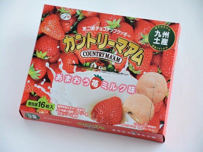 カントリーマアムあまおう苺ミルク味 外装