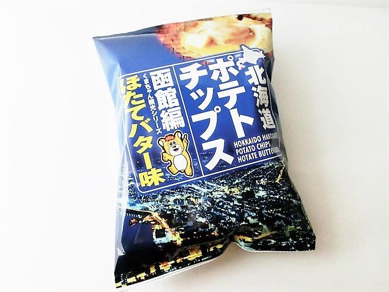北海道ポテチほたてバター 外装