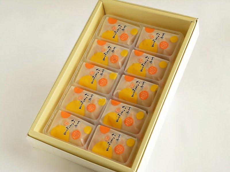 きんかん洋風饅頭 宮崎たまたま開封写真