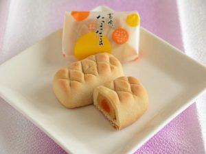 きんかん洋風饅頭 宮崎たまたま中身写真
