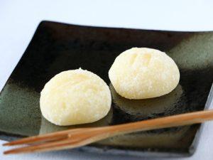 蒜山高原ミルクきびだんご開封した写真