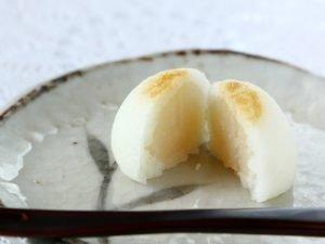 小菊饅頭中身の写真2