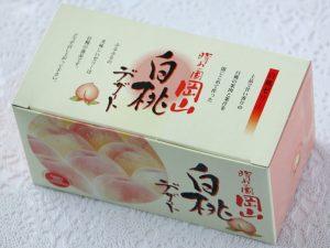 岡山白桃デザートカップ外装写真