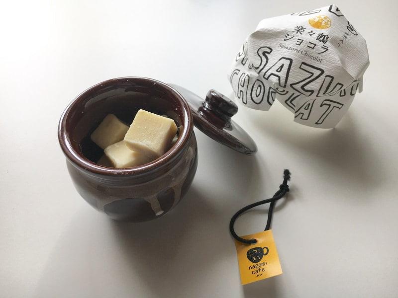 楽々鶴ショコラ内装