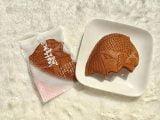 明石桜鯛せんべい 開封した写真