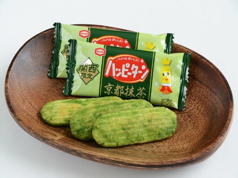 ハッピーターン京都抹茶 中身写真