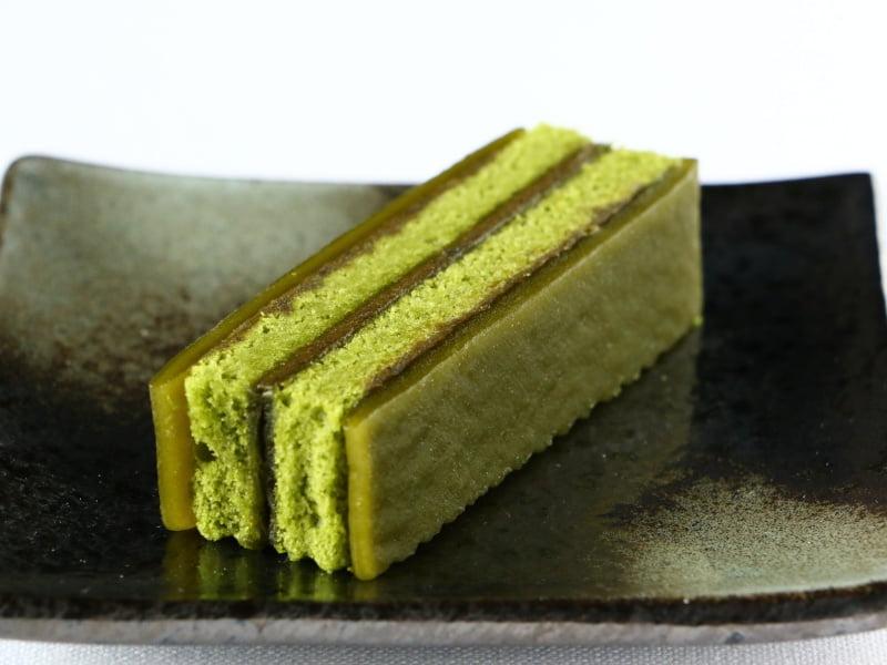 京町家ケーキ中身の写真