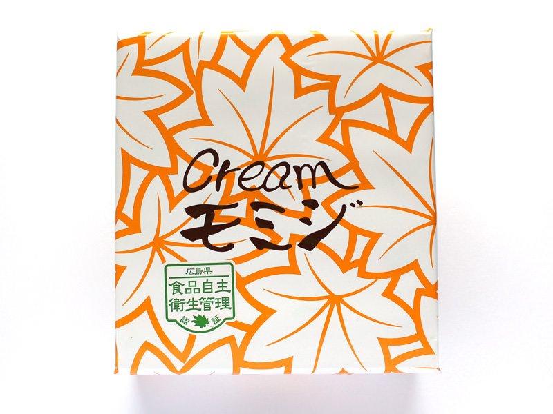 にしき堂 チーズクリームモミジ 外装