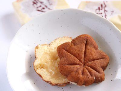 にしき堂 チーズクリームモミジ