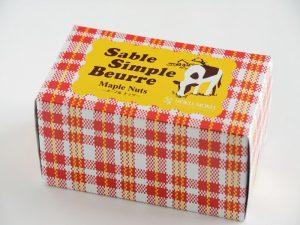 バターと小麦のさっくりサブレ(メープル)外装