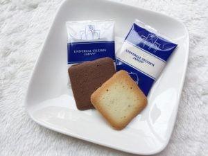 チョコレートサンドクッキー中身写真
