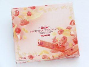 フルーツバーチョコレート外装写真