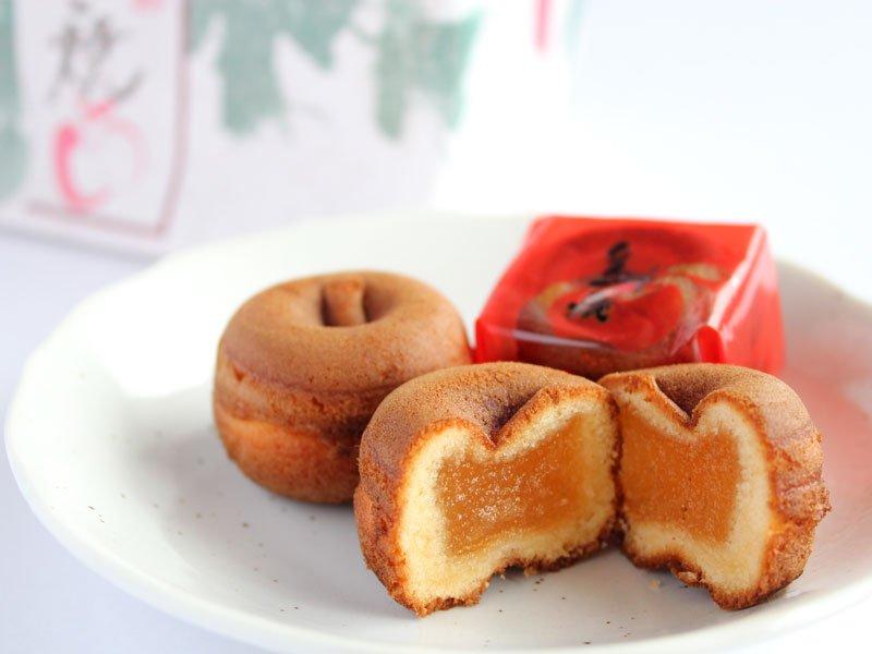 信州りんご焼 中身の写真