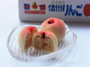 民芸菓子 信州りんご 中身の写真