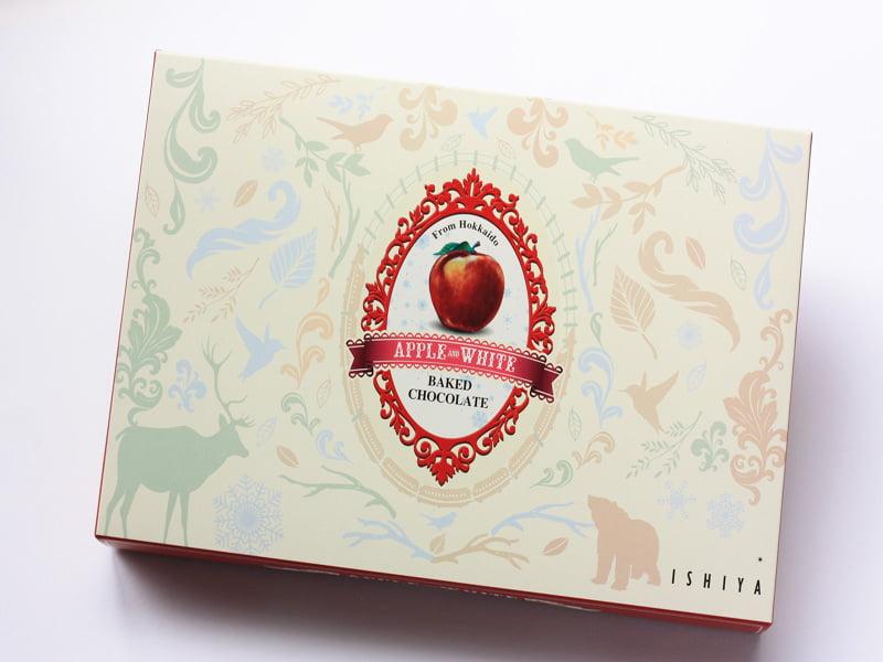 アップル&ホワイトベイクドチョコレート 外装