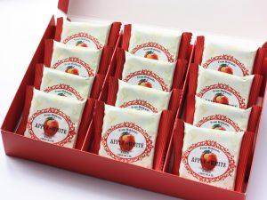 アップル&ホワイトベイクドチョコレート 開封した写真