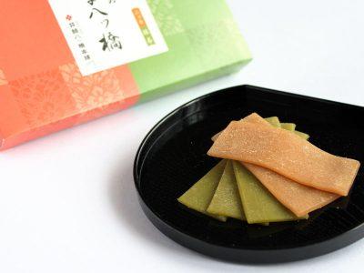 井筒のなま八ッ橋(ニッキと抹茶)
