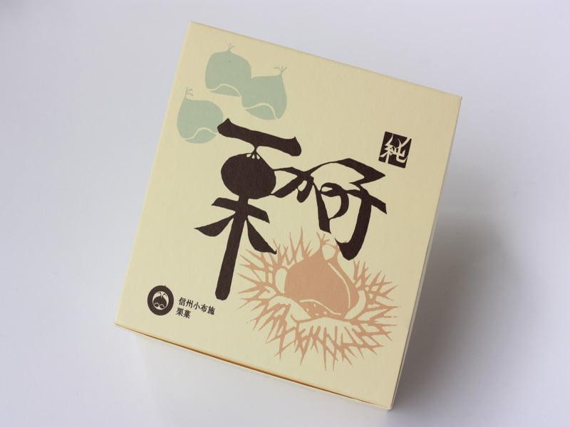桜井甘精堂 栗かの子 外装