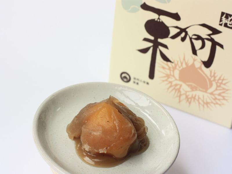 桜井甘精堂 栗かの子 中身の写真