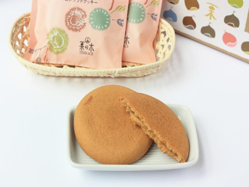 小布施浪漫 マロンソフトクッキー 中身の写真