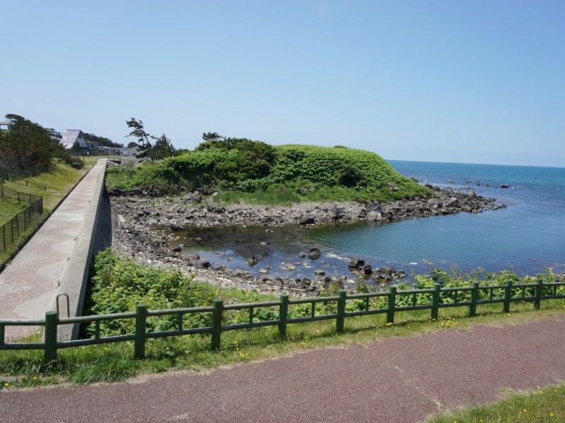 道の駅象潟遊歩道